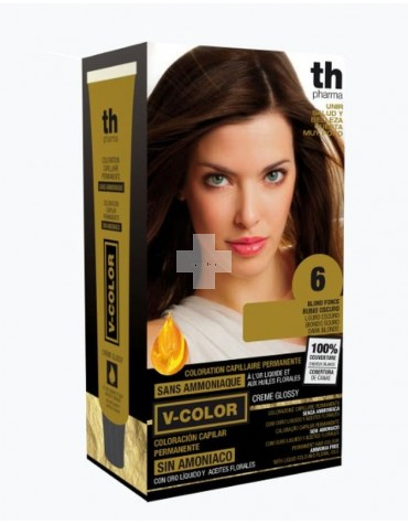TINTE V-COLOR TH PHARMA Tinte rubio oscuro 6