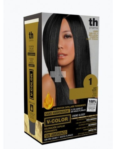 TINTE V-COLOR TH PHARMA Color Tinte Negro 1