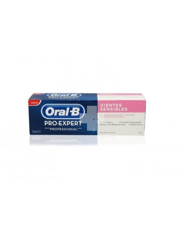 ORAL-B PRO EXPERT PROFESIONAL DIENTES SENSIBLES 125 ML