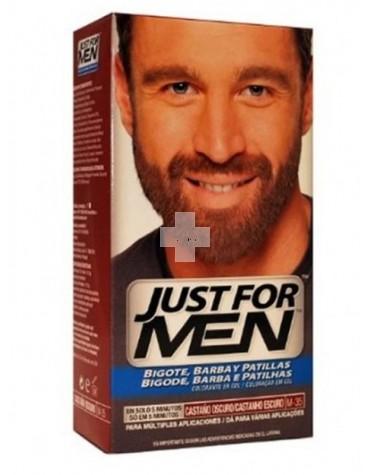 Just For Men Barba Castaño Oscuro, para que mantengas tu imagen intacta