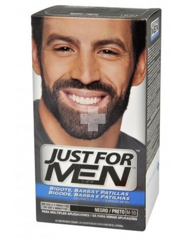 Just For Men Barba Negro, para que estés siempre impecable
