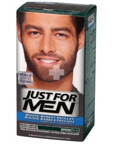 Just For Men Barba Moreno, y mantén impecable tu aspecto