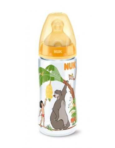 BIBERON FC PP LATEX NUK 2L 300 ML JUNGLE BOOK