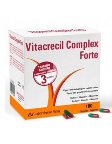 Vitacrecil Complex Forte 180 cápsulas para cabello y uñas