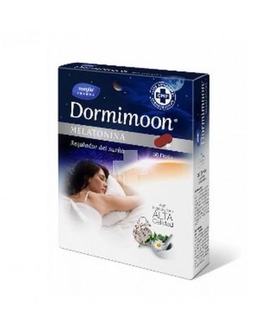 Dormimoon Melatonia 30 comprimidos cubre tus necesidades de sueño
