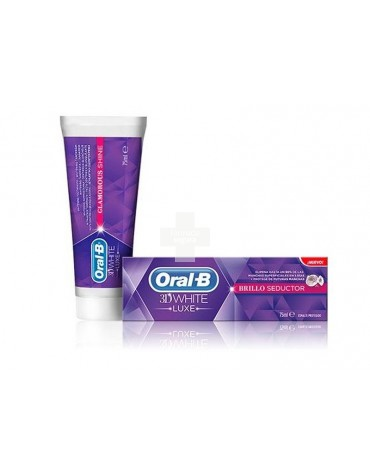 ORAL-B 3D WHITE LUXE BRILLO SEDUCTOR 100 ML