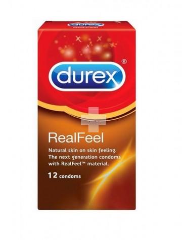 Durex Real feel preservativo sin látex 12 uds