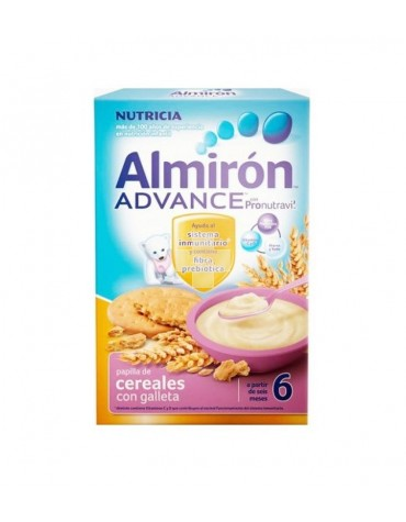 ALMIRON ADVANCE PAPILLA DE CEREALES CON GALLETA 500 G