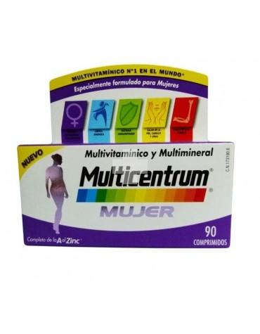Multicentrum Mujer 90 comprimidos para las necesidades específicas de la mujer