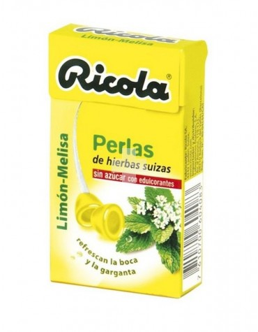 RICOLA PERLAS LIMÓN- MELISA