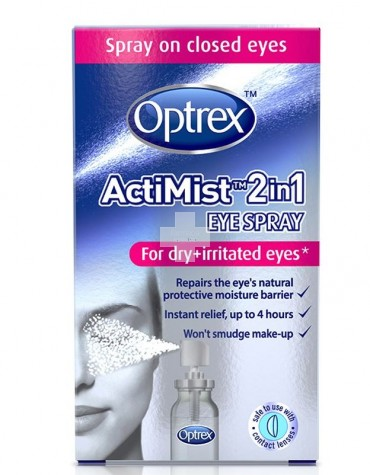 Optrex ActiMist Spray 2 en 1 - Fatiga visual