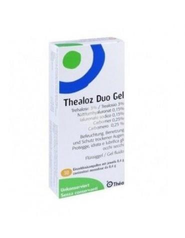 Thealoz Duo Gel 0,4 gr 30 unidosis, protege, hidrata y lubrica la superficie ocular.