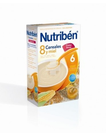 NUTRIBEN 8 CER MIEL FRUTOS SECOS 600 G