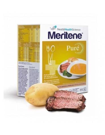 MERITENE PURÉ DE TERNERA CON PATATAS 450G