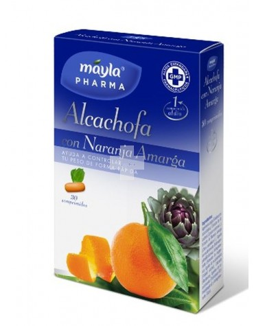 Alcachofa con Naranja Amarga, elimina el exceso de grasa y fuente de fibra