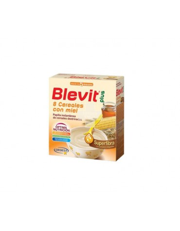Blevit plus Superfibra 8 Cereales con miel 600 g