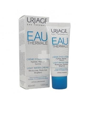 Uriage crema de agua thermal textura ligera 40 ml