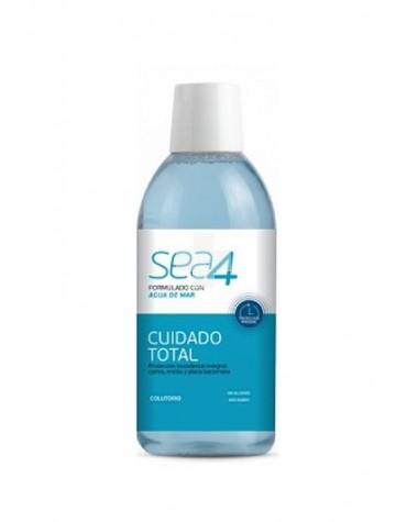Colutorio Sea4 Cuidado Total 500 ml protección integral de dientes y encías