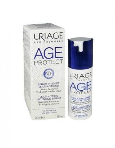 Uriage Age Protect Sérum Intensivo Multi Acción, Antiarrugas, Firmeza y protección Luz Azul