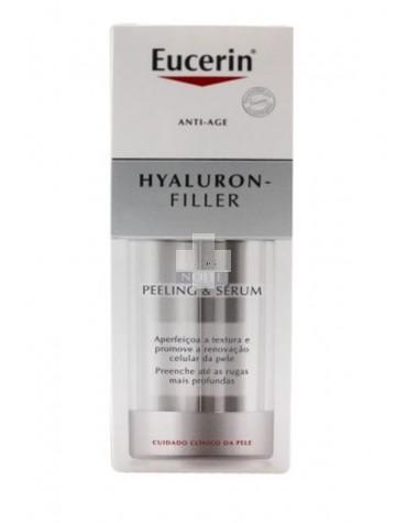 Eucerin Hyaluron Filler noche PEELING & SERUM 30 ml renovación celular y relleno de arrugas