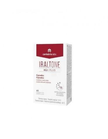 Iraltone Aga Plus 60 cápsulas, para evitar la caída del cabello