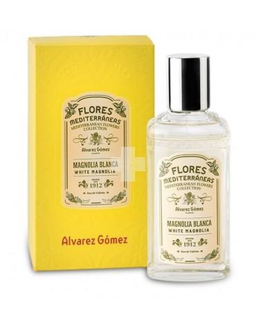Colonia de Flores Mediterráneas Magnolia Blanca
