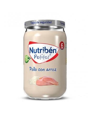 Nutribén Potito Pollo con Arroz 235 g