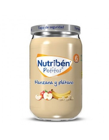 Nutribén Potito Plátano Manzana 235 g