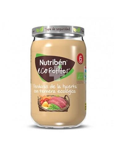 Nutribén Ecopotito delicias de verdura y ternera 235 g