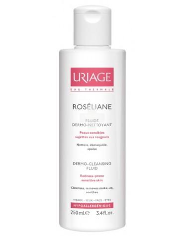 Uriage Roseliane Dermolimpiador 250ml. Limpiador para pieles sensibles y con rojeces.