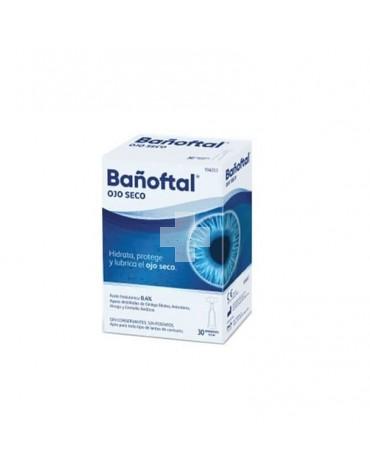 Bañoftal Ojo Seco 30 Monodosis 0.4%