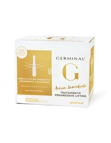Germinal Progressive Lifting  5 ampollas Piel mejorada al Instante