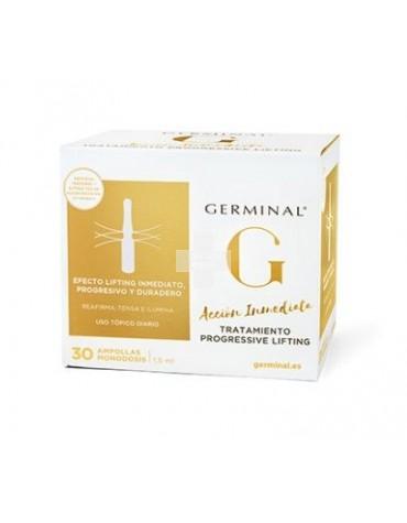 Germinal Progressive Lifting 30 ampollas Piel mejorada al Instante