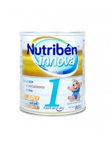 Nutribén Innova 1 800 g leche con GOS, Nucleótidos y DHA