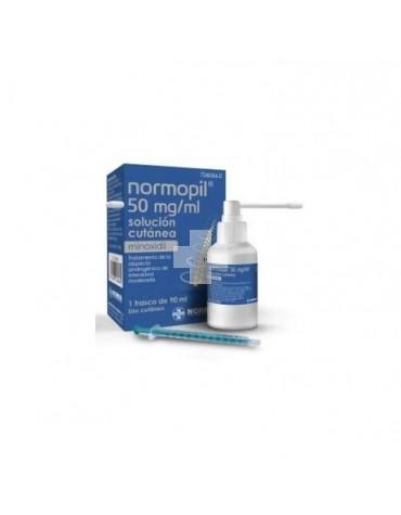 Normopil 50 mg/ml solución cutánea,1 frascos de 90 ml