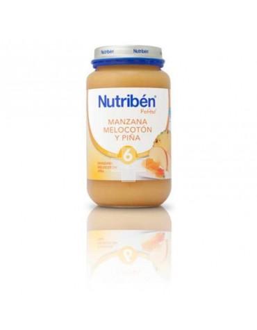 NUTRIBEN GRANDOTE MANZANA MELOCOTON PIÑA 250