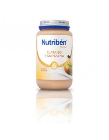 NUTRIBEN PLATANO MANZANA 250 G
