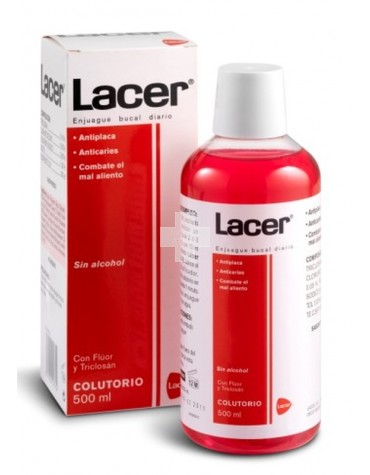 LACER COLUTORIO 500 ML FLUOR