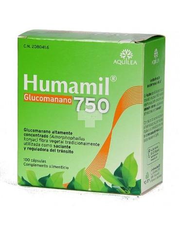 Humamil Glucomanano 750 90 cápsulas