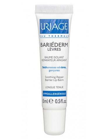 Uriage Bariederm Cica-Labios 15ml. Bálsamo para labios secos y dañados.