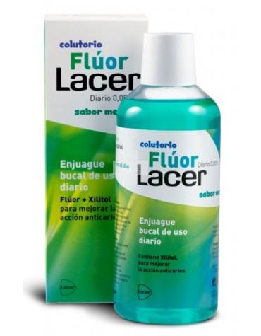 FLUOR LACER 0,05 DIARIO MENTA 500 ML