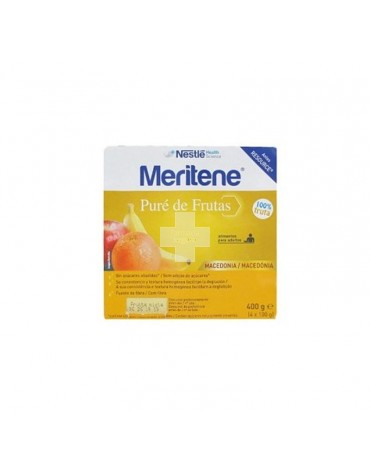 Meritene Puré Frutas, Macedonia 4x100
