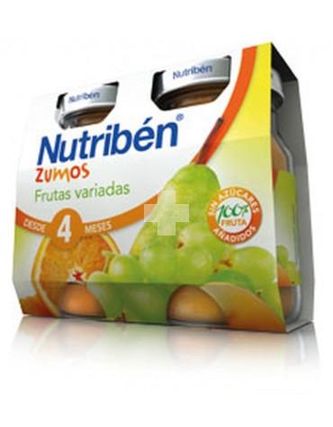 Nutriben Zumo Frutas Variadas 2X130 ml