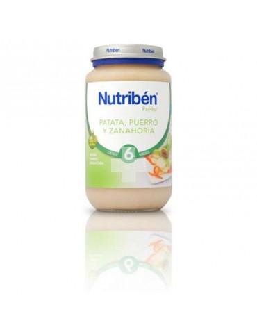 NUTRIBEN PATATA PUERRO ZANAHORIA 250 G GRANDOTE