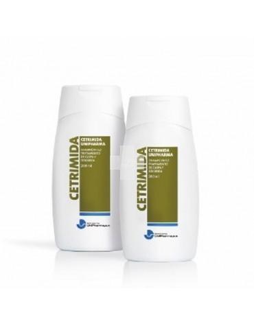 Cetrimida Unipharma Champú Anticaspa 200 ml limpieza de zonas afectadas por la descamación