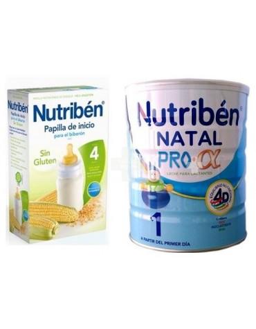 NUTRIBEN NATAL 800 G + CEREALES SIN GLUTEN 600 G