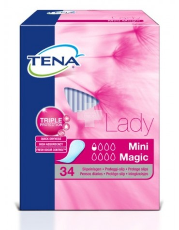 TENA LADY MINI MAGIC 34 U