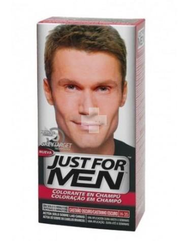 Just For Men Castaño Oscuro, combate las canas y te mantiene joven