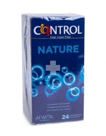 PROFILACTICOS CONTROL ADAPTA NATURE 24 UDS