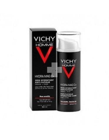 Vichy Homme Hydra MagC+, para tonificar, reducir bolsas y ojeras